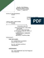 Tsn July 25 2015 Trial Minutes