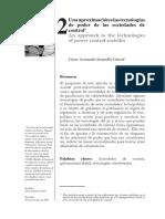 Una Aproximación a Las Tecnologias de Poder de Las Sociedades de Control- Oscar Jaramillo