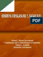 KENDRIYA VIDYALAYA NO. 1, SAGAR (