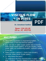 1.Viscous Flow in Pipes