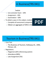 1 Introduction to Tourism