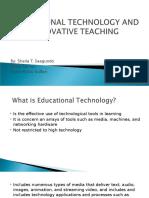 Report Ed Tech & Innovative Teaching