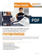 Manual Penggunaan Scanner Plustek Mobile Office