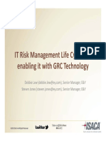 Risk ManaRISK MANAGEMENT LIFE CYCLEgement Life Cycle