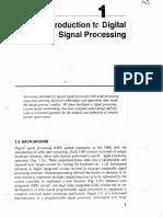 Introducción al procesamiento digital de señales