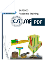 SAP2000 Academic Training
