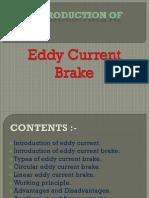 Eddy Current Brakes Ppt Slides