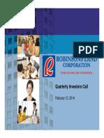 IR Quarterly Investors Pres Q1FY14 Slides