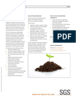 SGS Soil Analysis