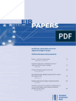 An efficient, sustainable and secure supply of energy for Europe - Global and European policy perspectives