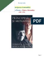 Principesa Si Monahie. Domnita Ileana-MaicaAlexandra