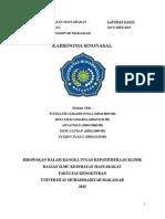 PKM Perawatan (PKM BARA-BARAYA) Refarat Karsinoma Sinonasal