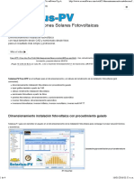 Dimensionamiento Instalación Fotovoltaica - ACCA Software S.p