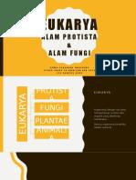 SCES3043 KEPELBAGAIAN BIOLOGI Eukarya (Kingdom Protist & Kingdom Fungus)