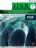 IDJSR Special Periodontology Issue