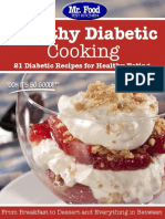 Healthy Diabetic Cooking - 21 Diabetic Recipes For Healthy Eating