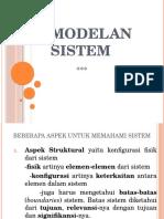 Pemodelan Sistem 2012-3