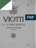Concert Nº 23 en SolM (Violí)