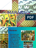 Architecture of Maranao Tribe