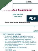 INTRODUÇÃO A PROGRAMACAO AULA 2