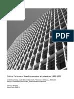 Critical Fortune of Brazilian Modern Architecture 1943-1955