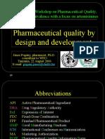 PharmDesign QualityDevelopment Specification