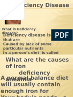 Deficiency Disease Ppt Made by Ujjwal