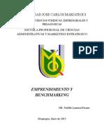 Entreneurship y Benchmarking
