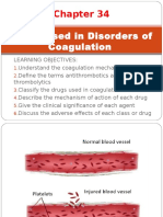 Drugs Used in Disorders of Coagulation