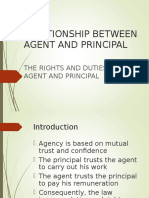 Relationship of Agent & Principal