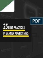 25 Mejores Prácticas para Banners Pubicitarios