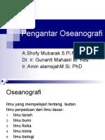 Pengantar Oseanografi
