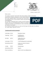 planning toetsenweek 25- 29 jan 2016
