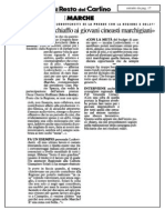 Articolo Spot Marche con D.Hoffman