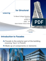 Measi Institute - Structral Glazing