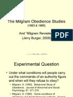 Studi Milgram Ppt
