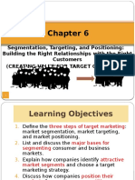 FHBM1124 Marketing Chapter 6-Segmentation Targeting Positioning