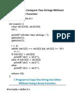C Programs