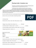 Philadelphia Seed Planting Guide | Examiner.com