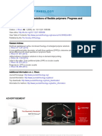 The rheology of dilute solutions of flexible polymers