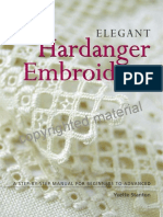 PREVIEW Elegant Hardanger Embroidery by Yvette Stanton