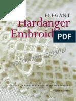 PREVIEW Elegant Hardanger Embroidery by Yvette Stanton