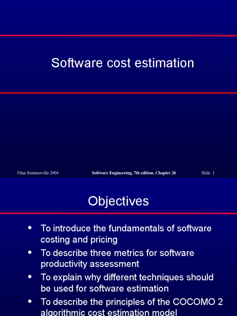 Software Cost Estimation | Top Down And Bottom Up Design (33