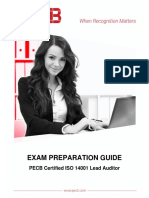 Pecb Iso 14001 Lead Auditor Exam Preparation Guide