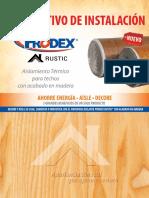 29 Prodex Rustic Manual de Instalacion