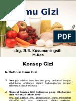 Ilmu Gizi PPT