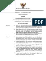 Perwal No. 25 Th. 2013 Ttg Penjabaran Pola Pemanfaatan Ruang