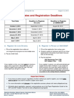 Final Sat Dates Deadlines 2013-2014