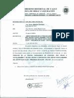 MEMORANDUM N° 035-2014-MDC-INCUMPLIMIENTO DE ACUERDO DE ACTA-CHINCHAS