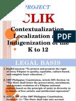 Presentation Project Clik